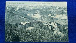 Semmering Im Winter Südbahnhotel U. Waldhof Mit Raxalpe Austria - Semmering