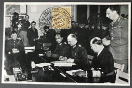 "France, WW2 - CP ""Salle De La Capitulation"" + Cachet Commemoratif - (B1352) - Oorlog 1939-45"