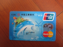 Invalided Master Credit Card, Dolphin And Hot Balloon,travel Card - Telefonkarten