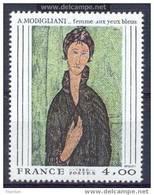 2109 , Modigliani, Neuf Sans Charniere *** Cote 2.30€ - France