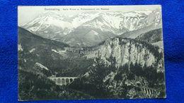 Semmering Kalte Rinne U. Polleroswand Mit Raxalpe Austria - Semmering