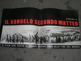 PUBBLICAZIONE FOTOGRAFICA IL VANGELO SECONDO MATTEO FILM DI PIERPAOLO PASOLINI - Manifesti & Poster