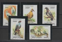 Viet-Nam 1992 Oiseaux 1348-52 5 Val ** MNH - Vietnam