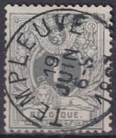 """79- COB/OBP 43 (o)  """"Templeuve"""" +6 - 1869-1888 Lion Couché (Liegender Löwe)"""