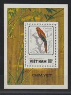 Viet-Nam 1988 Oiseaux BF 46 ** MNH - Vietnam