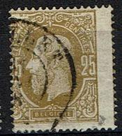 32  Obl  Cu  Décentrage - 1869-1883 Léopold II