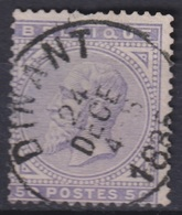 "82- COB/OBP 41 (o)  ""Dinant"" +1 - 1869-1883 Leopold II."