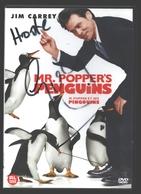 DVD - Mr. Popper's Penguins - Jim Carrey - Comédie