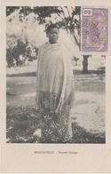 CPA AK Moyen Congo Francais Femme Loanga Native Französisch Kongo Brazzaville Afrique Africa Colonie Colony Timbre Stamp - Französisch-Kongo - Sonstige