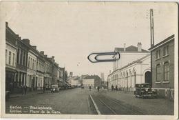 Eeklo - Eecloo : Statieplaats  (  Old Cars ) - Eeklo