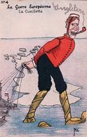 Minouvis, La Guerre Européenne, La Cueillette, Litho (536) - Other Illustrators