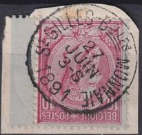 "88- COB/OBP 46 (o)  ""St-Gilles-Belles-Monnaie"" +4 - 1884-1891 Leopold II."