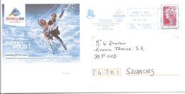 2011  EMA  Candidature D'Annecy Aux Jeux Olympiques D'Hiver 2018 Sur Entier Postal (n° HP 115185) - Winter 2018: Pyeongchang