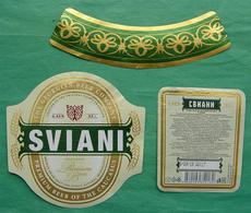 Sviani Beer Label Georgia - Bier