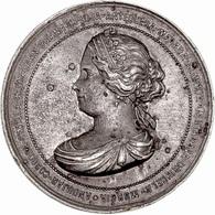 ESPAÑA. ISABEL II. MEDALLA DE LA VISITA A ANDALUCÍA Y MURCIA. 1.862. ESPAGNE. SPAIN MEDAL - Monarquía/ Nobleza