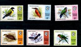 1 Série De 6 Timbres Neufs Des îles Solomon Sur Les Oiseaux Birds Nature - Salomon (Iles 1978-...)