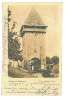 RO 990 - 17493 MEDIAS, Sibiu, Romania - Old Postcard - Used - 1904 - Rumania