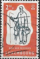 LUXEMBOURG 1960 World Refugee Year - 2f50 Refugees Seeking Shelter FU - Usati