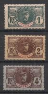 Dahomey - 1906 - N°Yv. 18 - 19 - 20 - Faidherbe 3 Valeurs - Neuf Luxe ** / MNH / Postfrisch - Ungebraucht