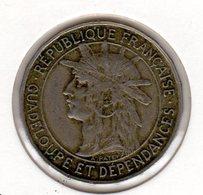 PIECE 1 FRANC GUADELOUPE 1921   TTB - Frankreich