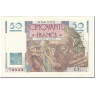 France, 50 Francs, Le Verrier, 1947, 1947-06-12, SPL, Fayette:20.7, KM:127b - 1871-1952 Antiguos Francos Circulantes En El XX Siglo