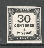 Frankrijk, Taxe Yv 6, Postfris Zonder Scharnier, MNH) - Portomarken