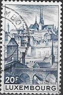 LUXEMBOURG 1948 Tourist Propaganda - 20f. Luxembourg FU - Usati