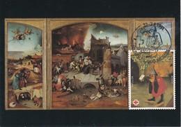Carte Maximum Peinture 1991 Bosch  Belgique - Cartoline Maximum