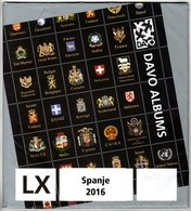 Supplément DAVO LX ESPAGNE 2016 - Prix Officiel 44,50 € - Belgium