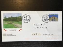 Arras 2007 Sur Pap Vimy Bataille D'arras - Marcophilie (Lettres)