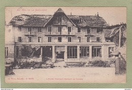 COL DE LA SCHLUCHT  HOTEL FRANCAIS PENDANT LA GUERRE - Autres Communes