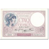 France, 5 Francs, Violet, 1940, 1940-11-28, TTB+, Fayette:4.15, KM:83 - 1871-1952 Anciens Francs Circulés Au XXème