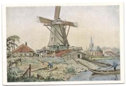 Moulin - Molen - Mill - Mühle - Windmolens