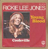 "7"" Single, Rickie Lee Jones - Young Blood - Disco, Pop"