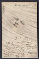 Patella A/s-color, Woman's Facein Windstorm? 1903 Postcard - Autres Illustrateurs