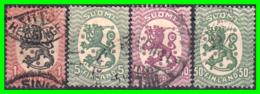 FINLANDIA  ( SUOMI )  SELLO AÑO 1922-29   ESCUDO NACIONAL - Finland