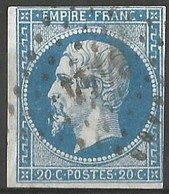 FRANCE - Oblitération Petits Chiffres LP 3444 UCKANGE (Moselle) - 1849-1876: Période Classique
