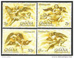 450 Ghana Anges Angels Christmas Noel MNH ** Neuf SC (GHA-141) - Noël