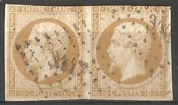 FRANCE - Oblitération Petits Chiffres LP 3447 USSEL-SUR-SARSONNE (Corrèze) - 1849-1876: Periodo Classico