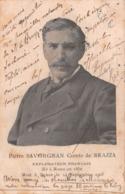 PIERRE SAVORGNAN COMTE DE BRAZZA - EXPLORATEUR FRANÇAIS - POSTED IN 1905 ~ A VINTAGE OLD POSTCARD #9R54 - Historical Famous People