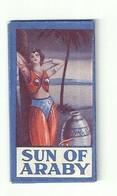 """6324 """" SUN OF ARABY-SAFETY RAZOR BLADE """"-CONFEZIONE CON 1 LAMETTA - Lamette Da Barba"""