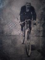 Cyclisme - Vélo - FERROTYPE TINTYPE - Homme Sur Vélocipède - Circa 1880 - BE - Foto