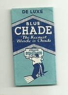 """6325 """" BLUE CHADE -THE KEENEST BLADE IS CHADE """"-CONFEZIONE CON 1 LAMETTA - Lamette Da Barba"""