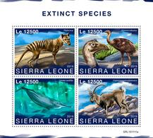SIERRA LEONE 2019 - Extinct Sp, Giant Moa. Official Issue [SRL191111a] - Straussen- Und Laufvögel