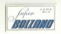 """6329 """" SUPER BOLZANO-LAMA BLU """"-CONFEZIONE CON 1 LAMETTA - Lamette Da Barba"""