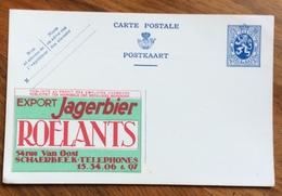BIRRIFICIO ROELANTS  ADVERTISING PUBBLICUITA  SU BELGIQUE CARTE POSTALE - Lettere