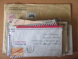 51 Enveloppes Dont Nombreuses Depuis Ou Vers Diego-Suarez (Madagascar) + Divers Pays USA, Canada, Indochine... - France (ex-colonies & Protectorats)