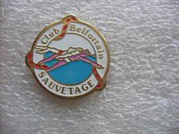 Pin's Club Belfortain De Sauvetage. Plongée - Tauchen