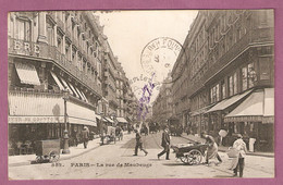 Cpa Paris Rue De Maubeuge Banque, Brasserie, Au Comptoir - éditeur CM  N° 852 - Distretto: 09