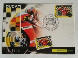 Italia Fdc Maximum Card 2008 Le Moto Ducati Annullo Barberino Del Mugello - Cartes-Maximum (CM)